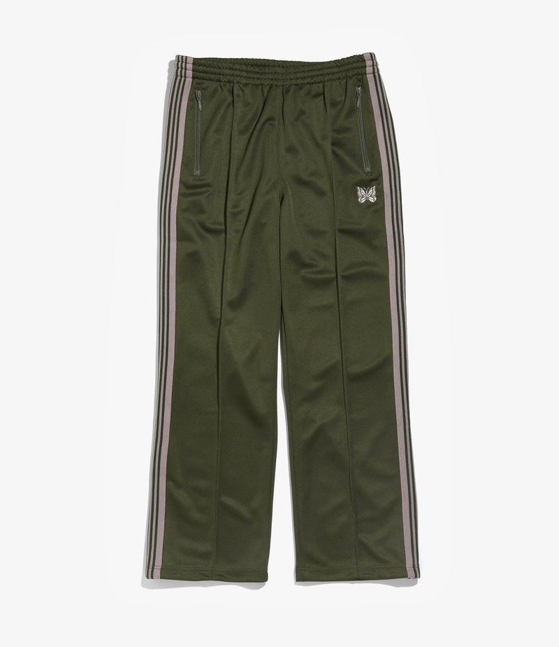 Needles Track Pant - Poly Smooth - Olive