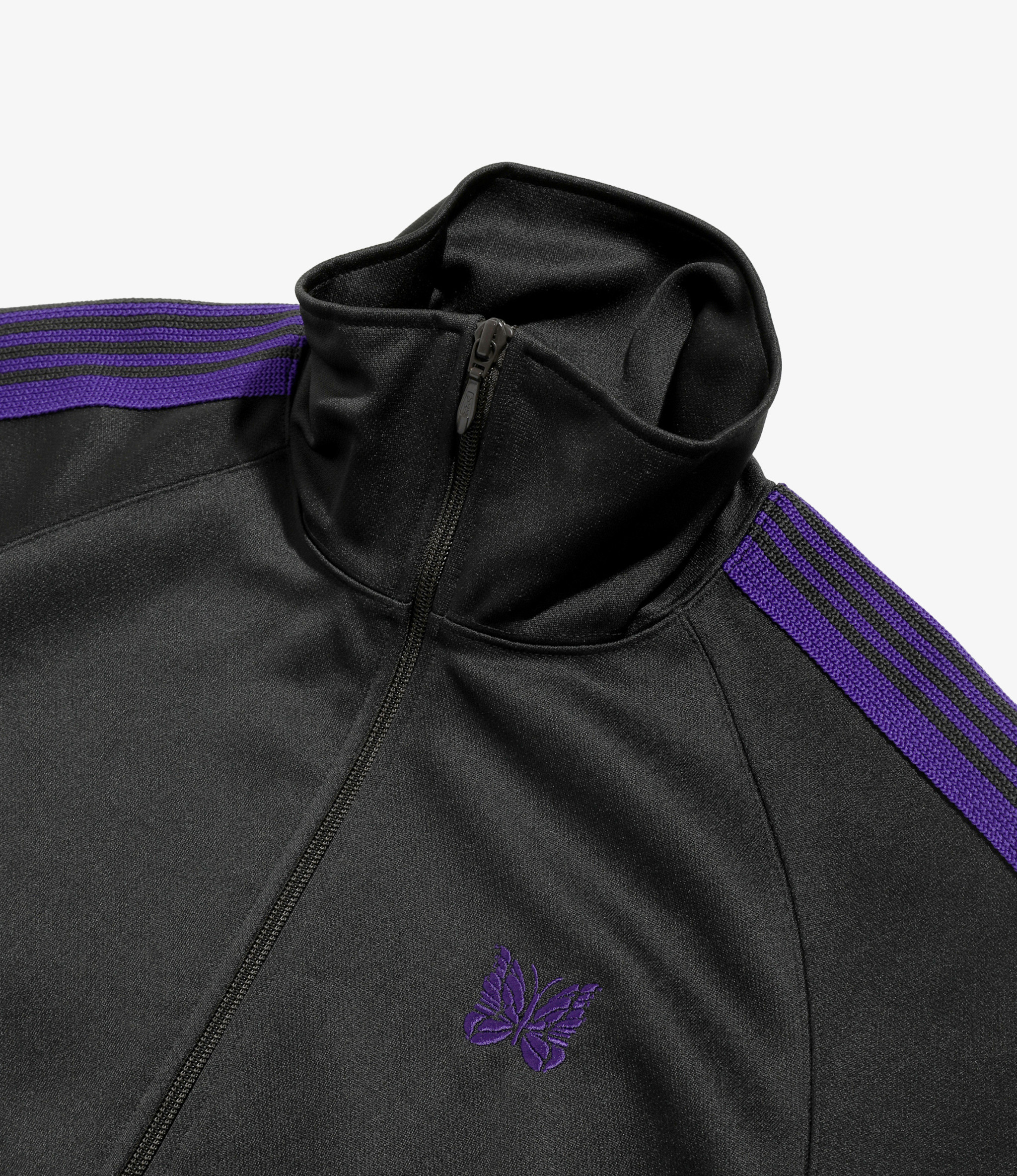 Needles Track Jacket - Poly Smooth Charcoal