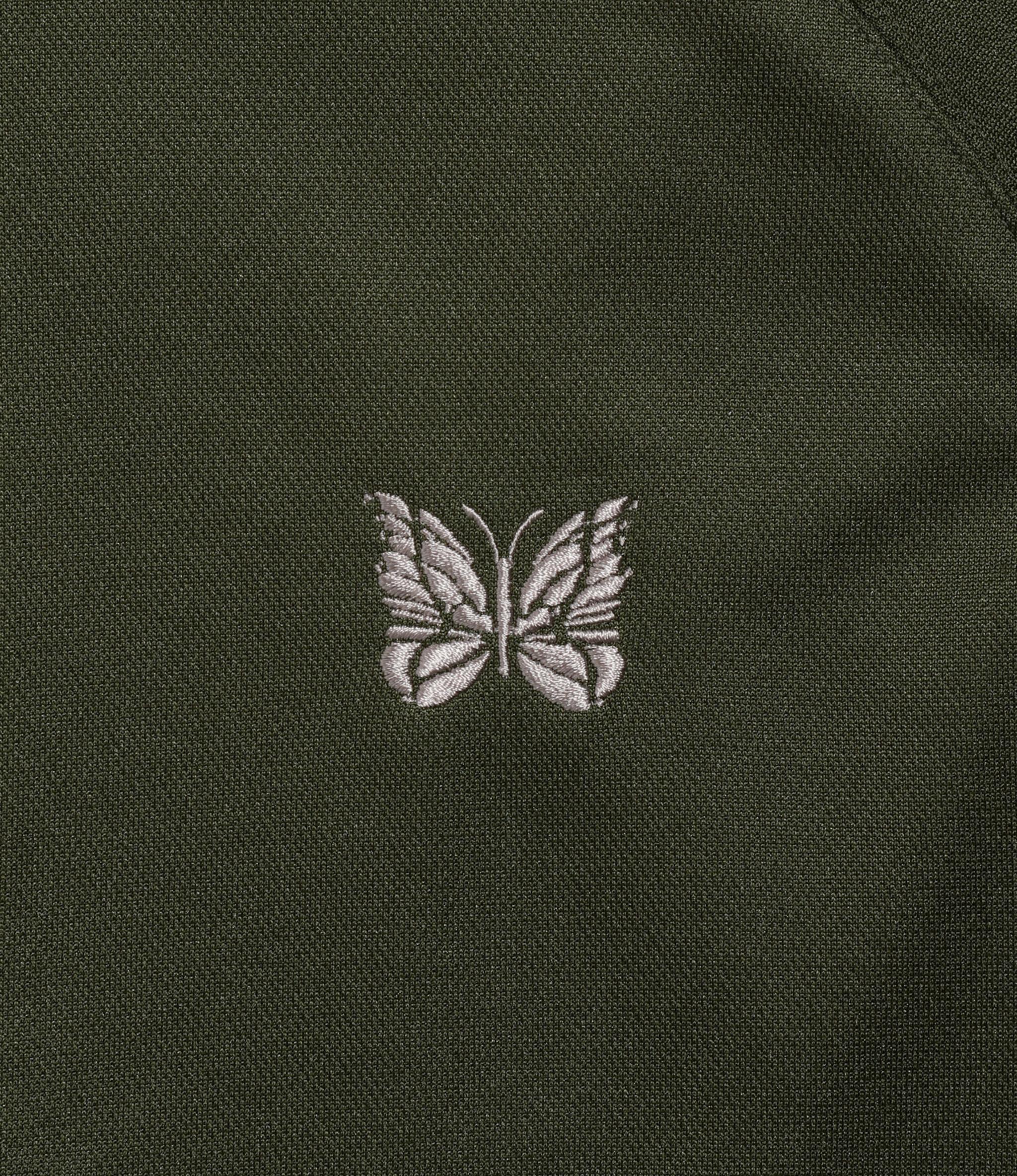 Needles Track Jacket - Poly Smooth Olive