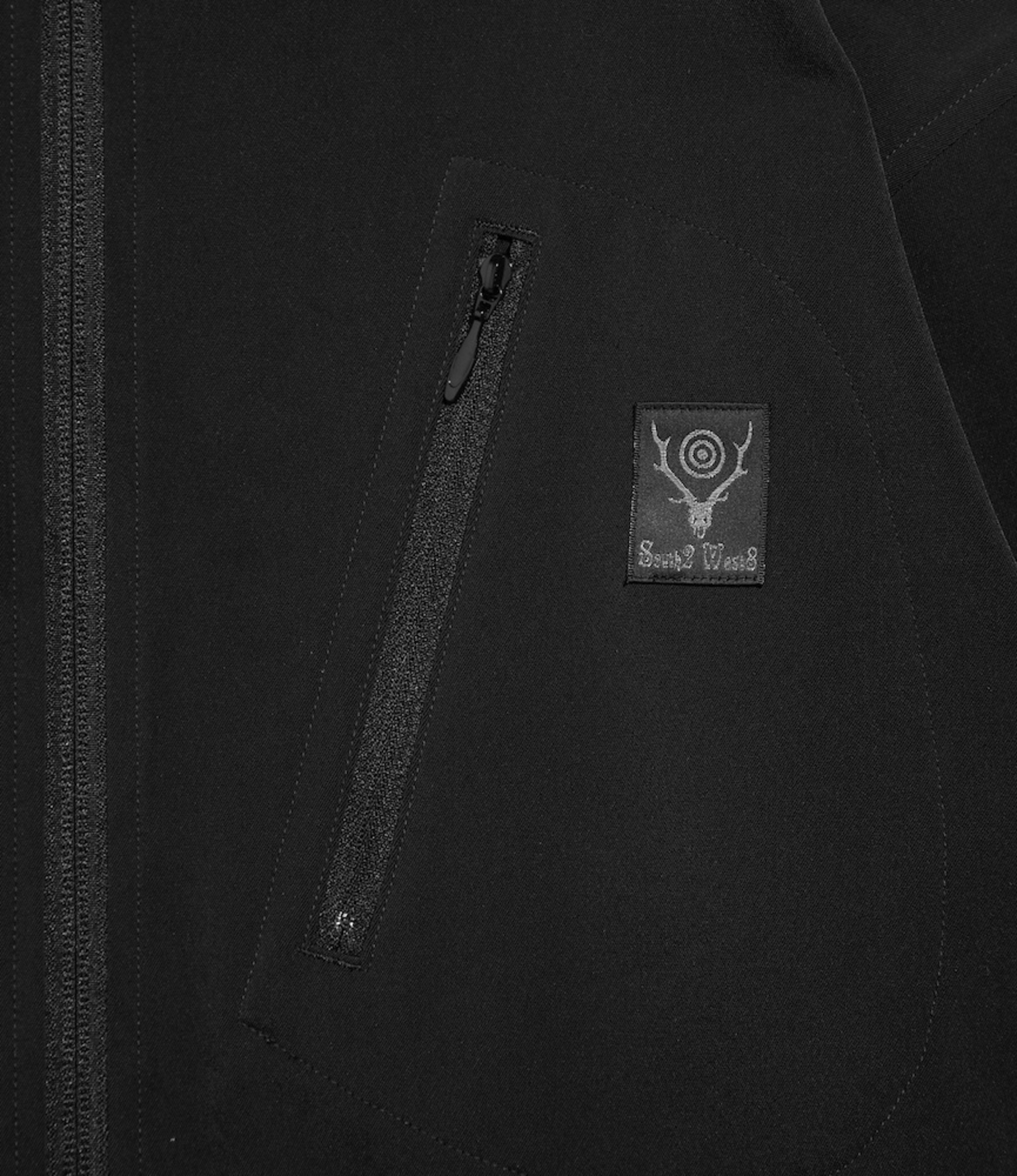 South2 West8 Boulder Shirt - Brushed Lining Twill - Black