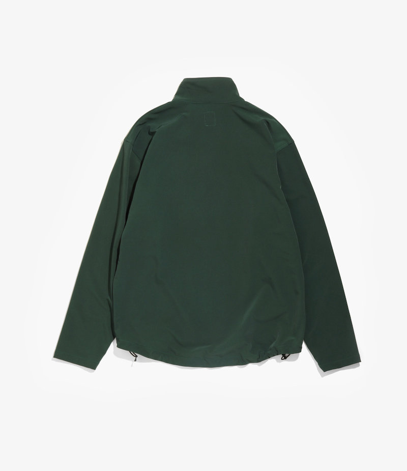 South2 West8 Boulder Shirt - Brushed Lining Twill - Green