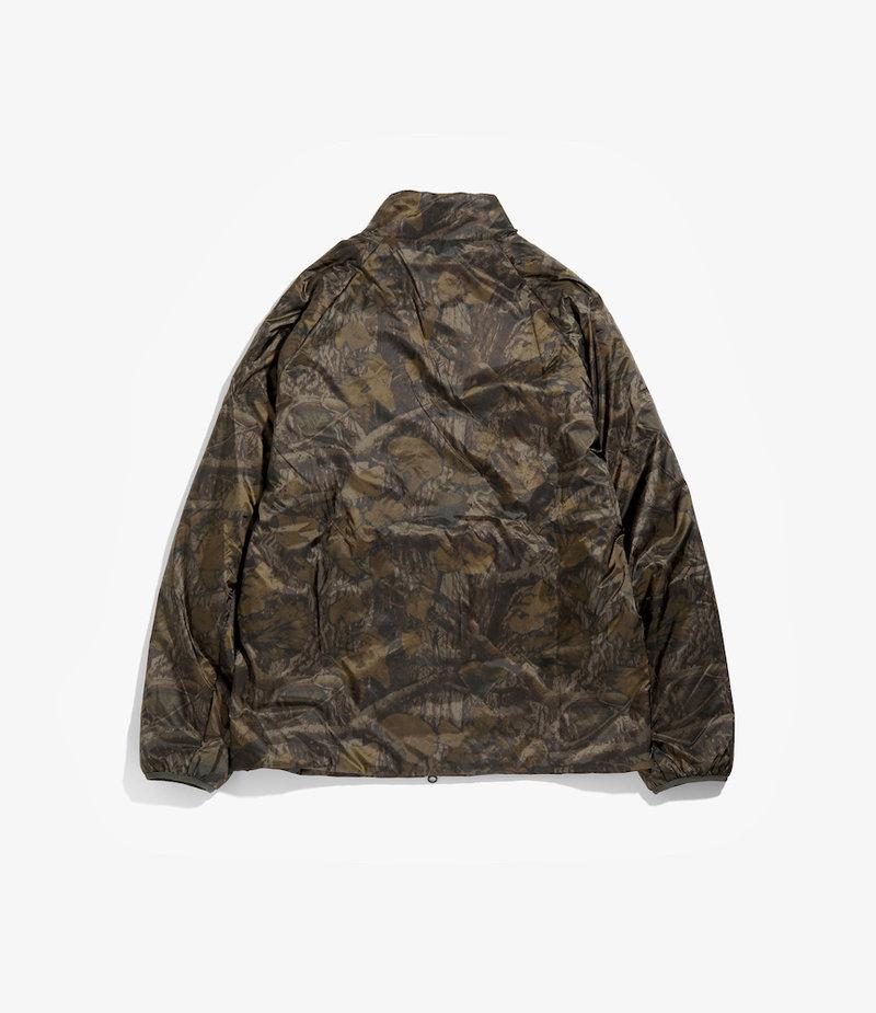 South2 West8 Zipped Filling Jacket - Nylon Taffeta - Olive