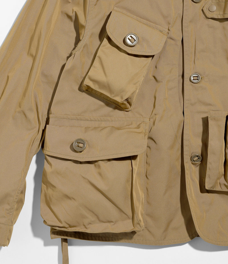 South2 West8 Tenkara Shirt - Poly Gabardine - Khaki