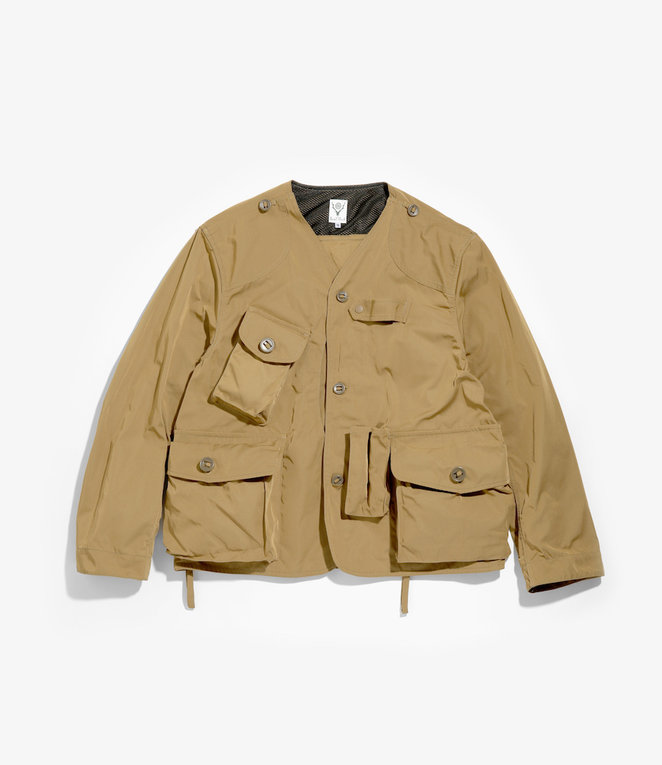 South2 West8 Tenkara Shirt - Poly Gabardine - Khaki