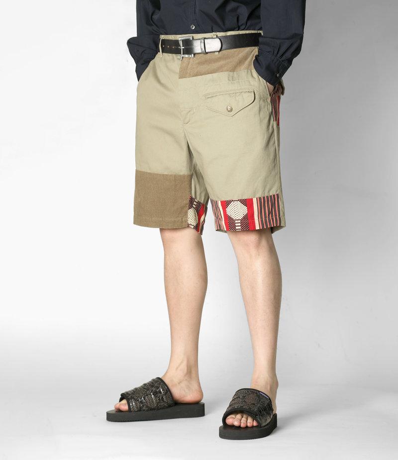 Engineered Garments Ghurka Short  - Khali 6.5oz Flat Twill