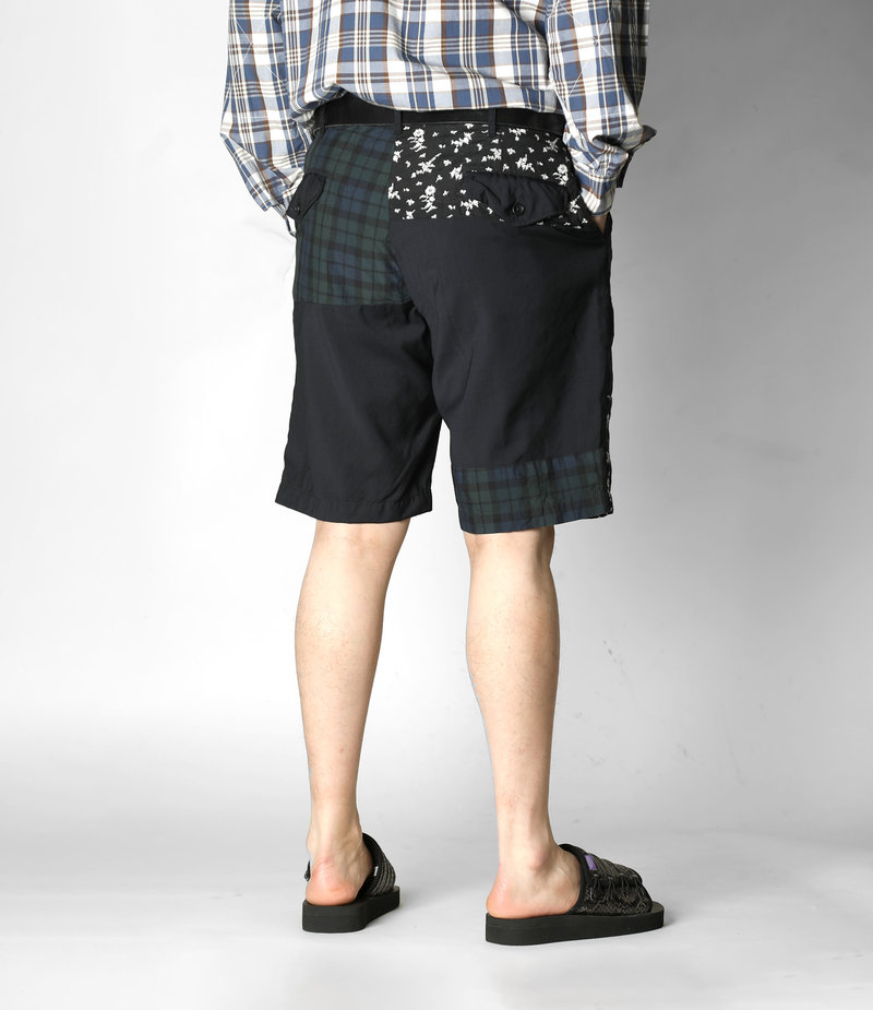 Engineered Garments Ghurka Shot - Dark Navy Tropical Wool