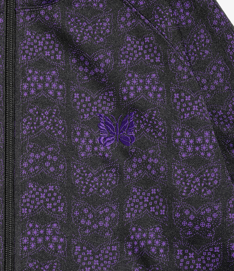 Needles Track Jacket - Poly Jacquard - Papillon