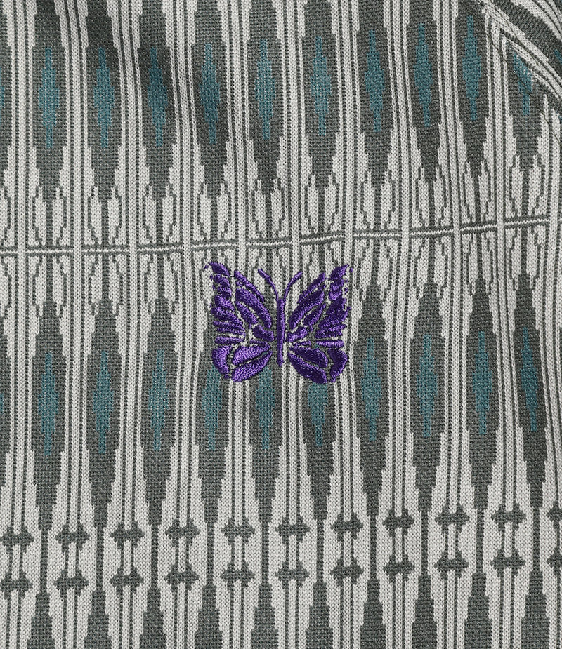 Needles Track Jacket - Poly Jacquard - Geometry