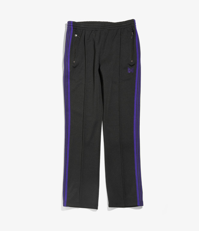 Needles Narrow Track Pant - Poly Smooth - Charcoal