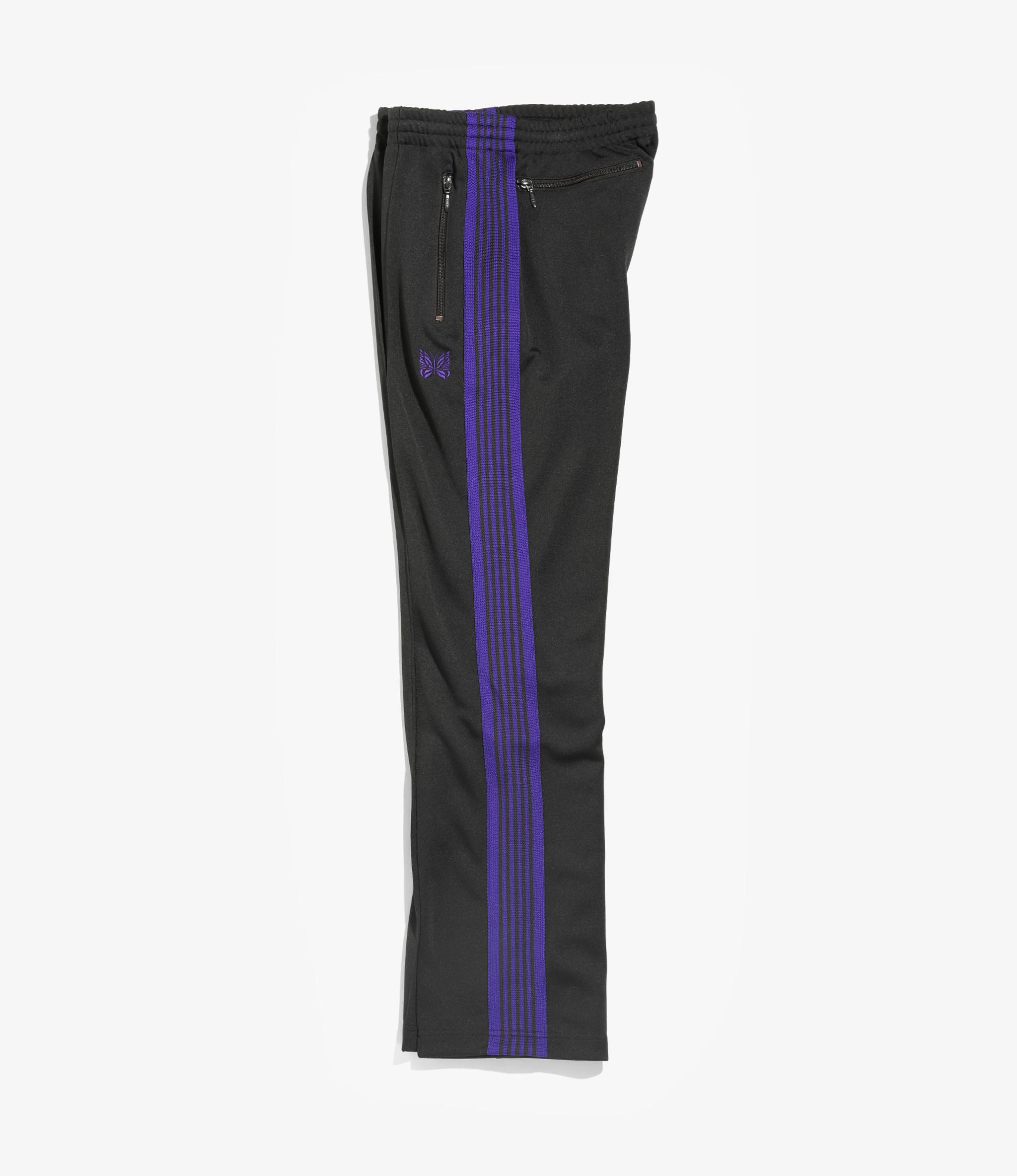 Needles Narrow Track Pant - Poly Smooth - Charcoal