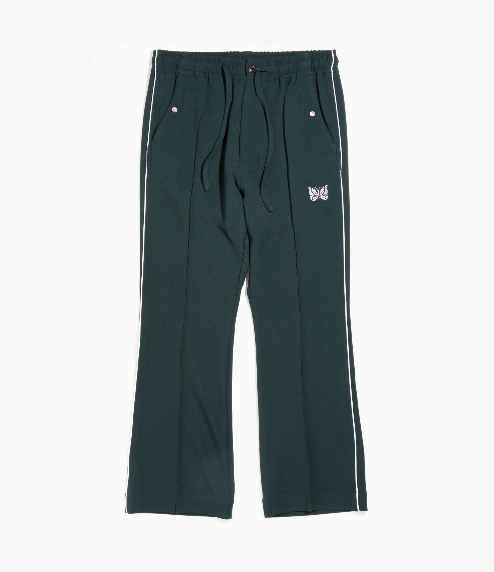 Needles Piping Cowboy Pant - Pe/R/Pu Twill - Green