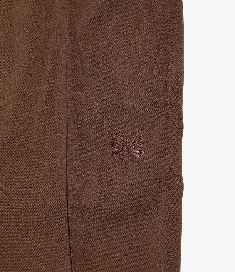 Needles W.U. Boot-Cut Pant -  Pe/W Doeskin - BRN