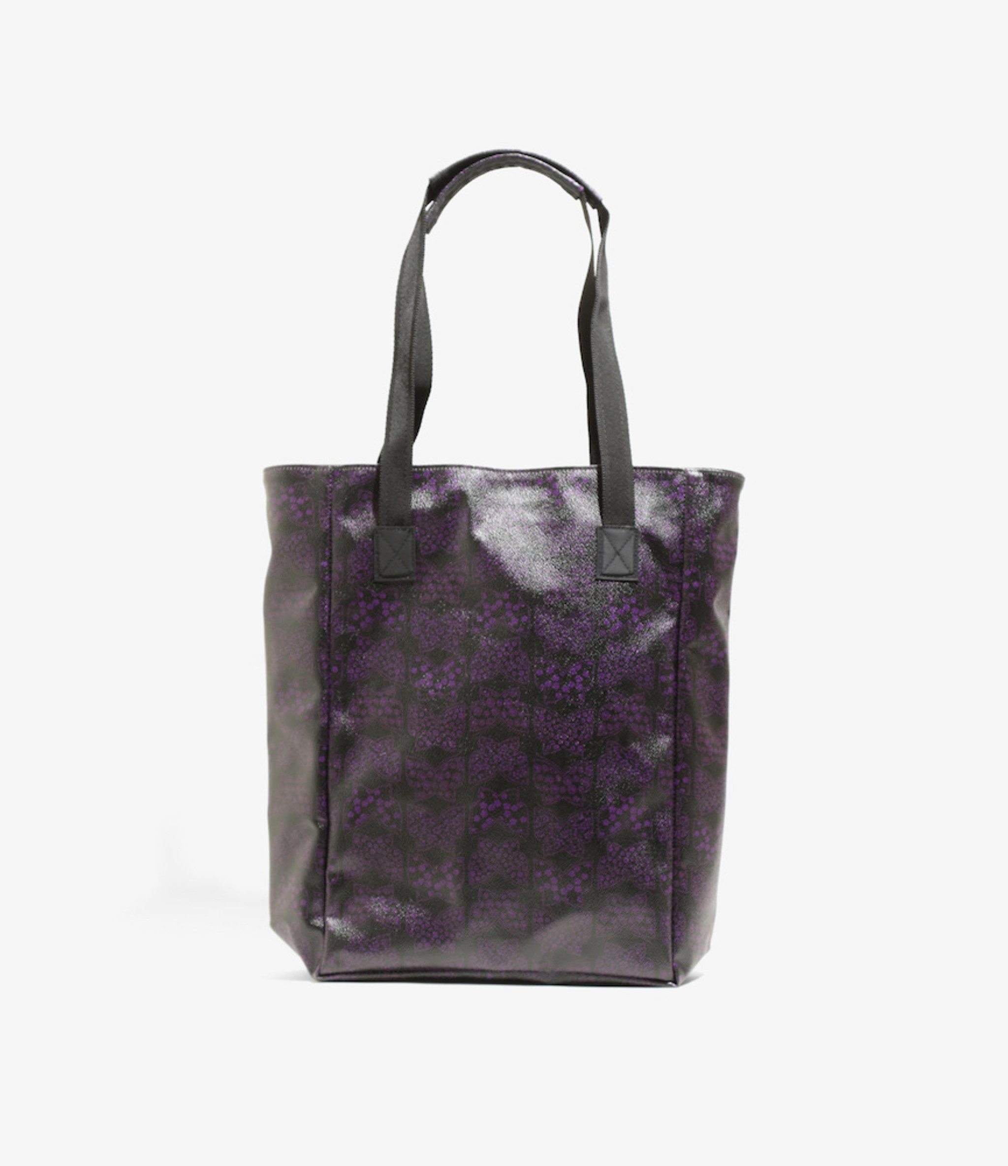 Needles Tote Bag - Papillon PVC - BLACK