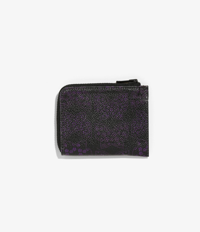 Needles Coin Case - Papillon PVC - BLACK