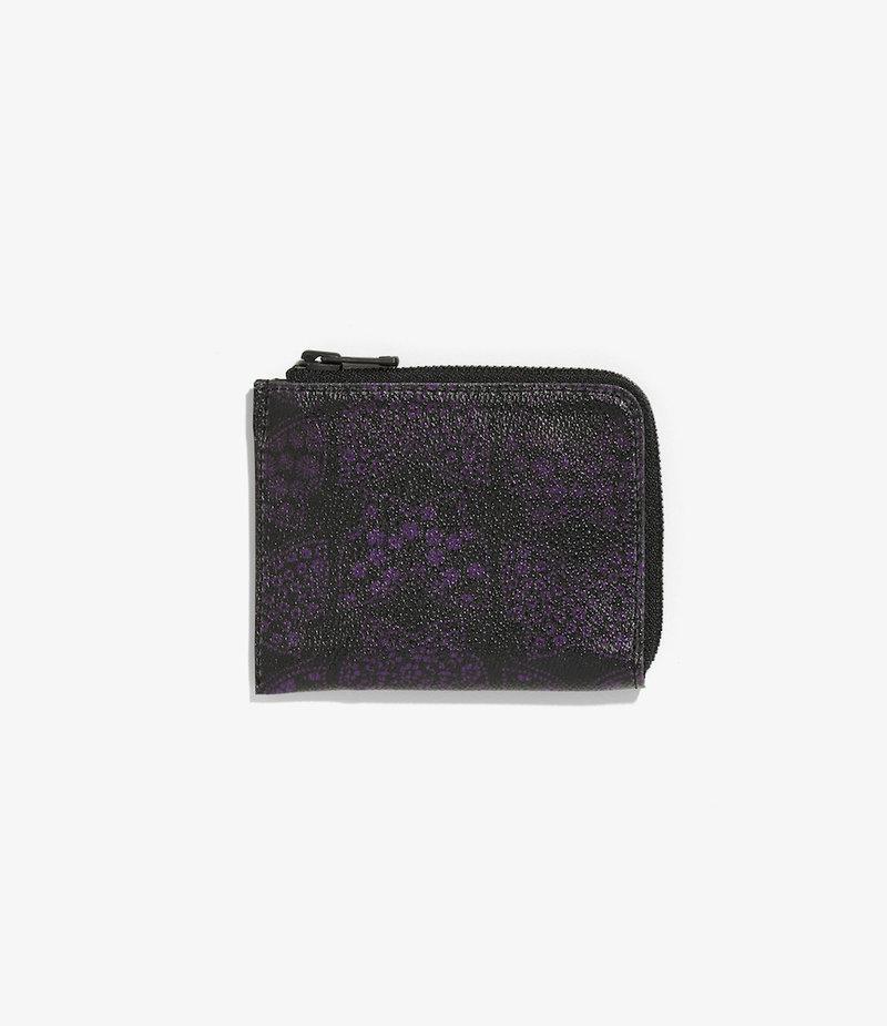 Needles Coin Case - Papillon PVC - BLACK