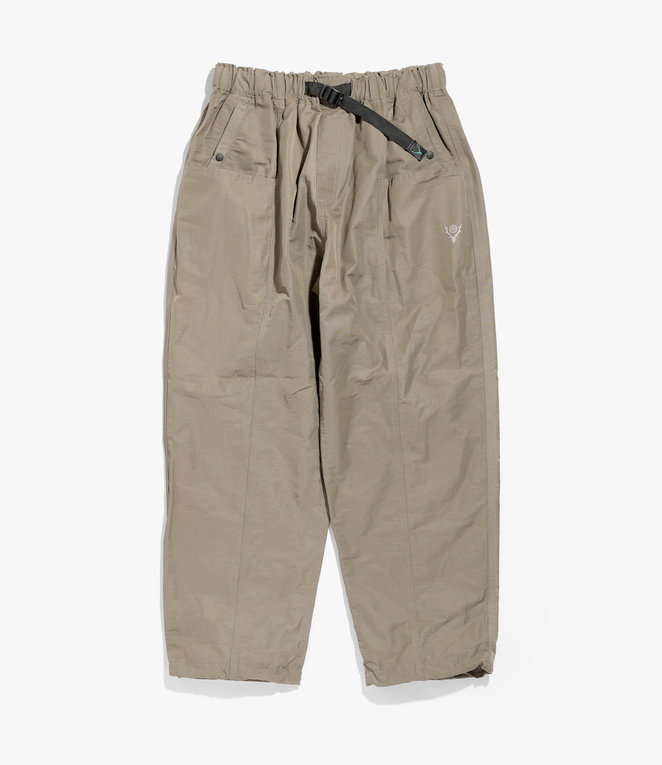 South2 West8 Belted Center Seam Pant - Cotton/Nylon Grosgrain - Taupe