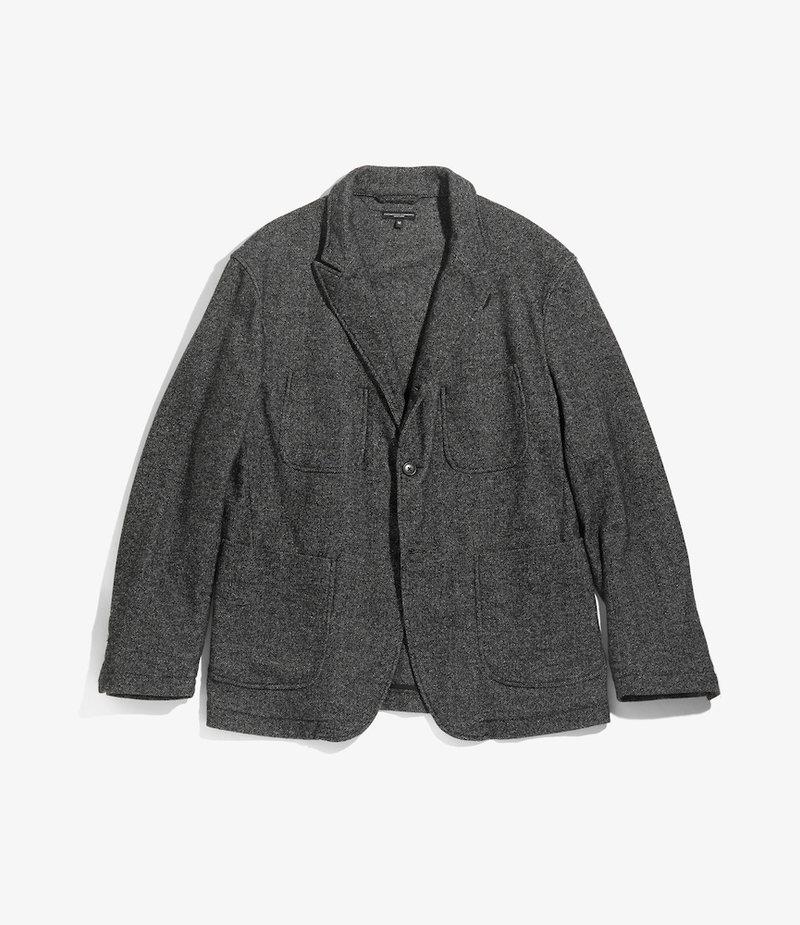 Engineered Garments NB Jacket - Grey Wool Blend Homespun