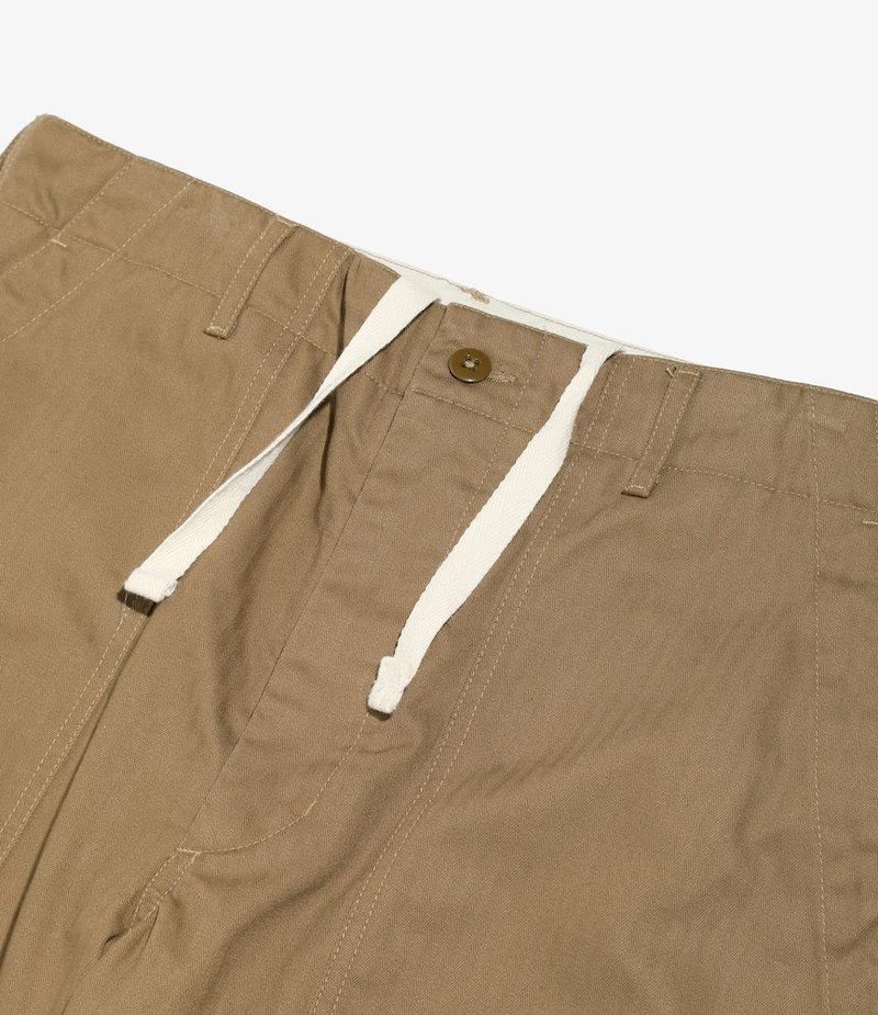 Engineered Garments Fatigue Pant - Brown Cotton Herringbone Twill