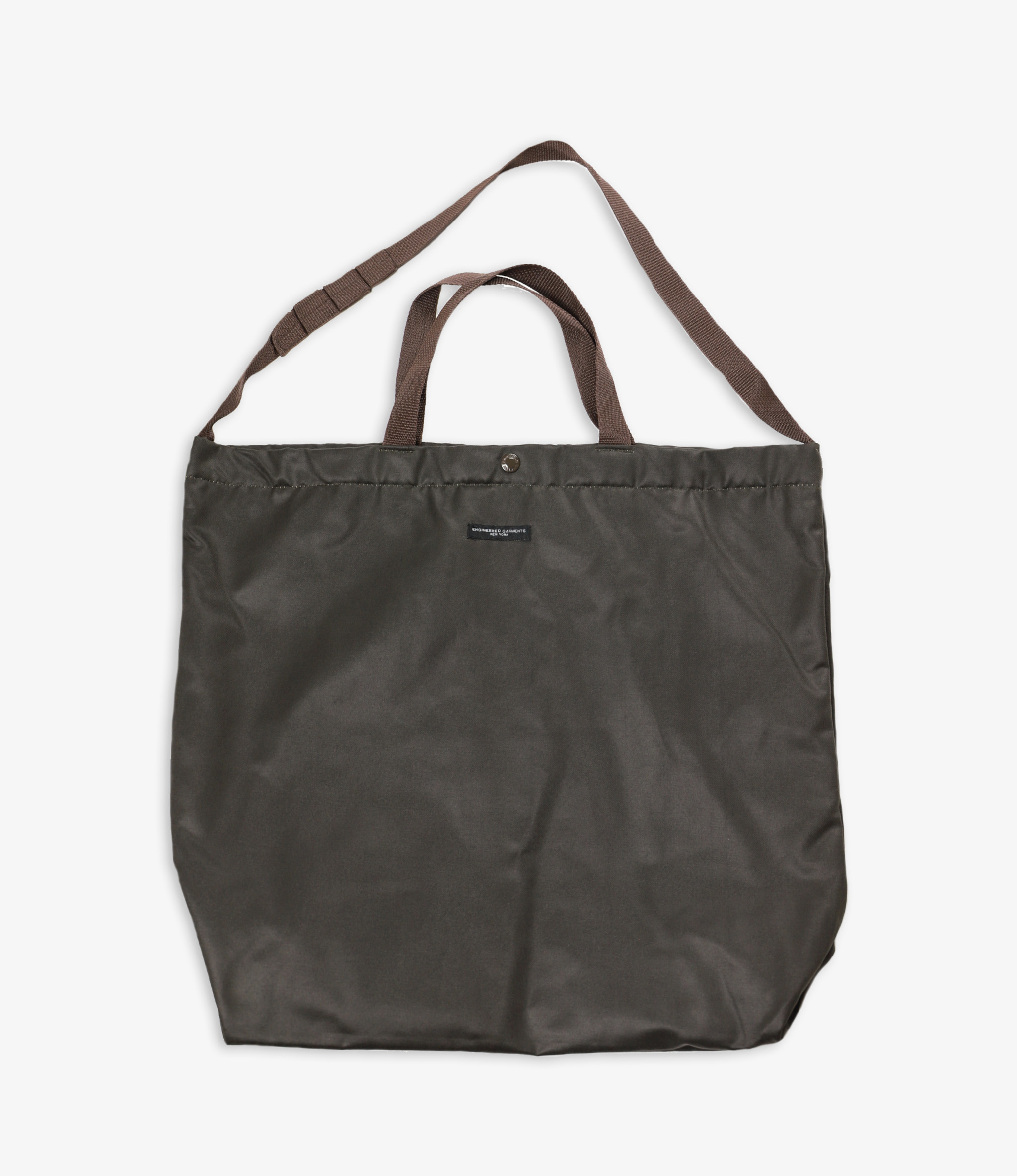 Engineered Garments Carry All Tote - Dk.Olive Coated Twill