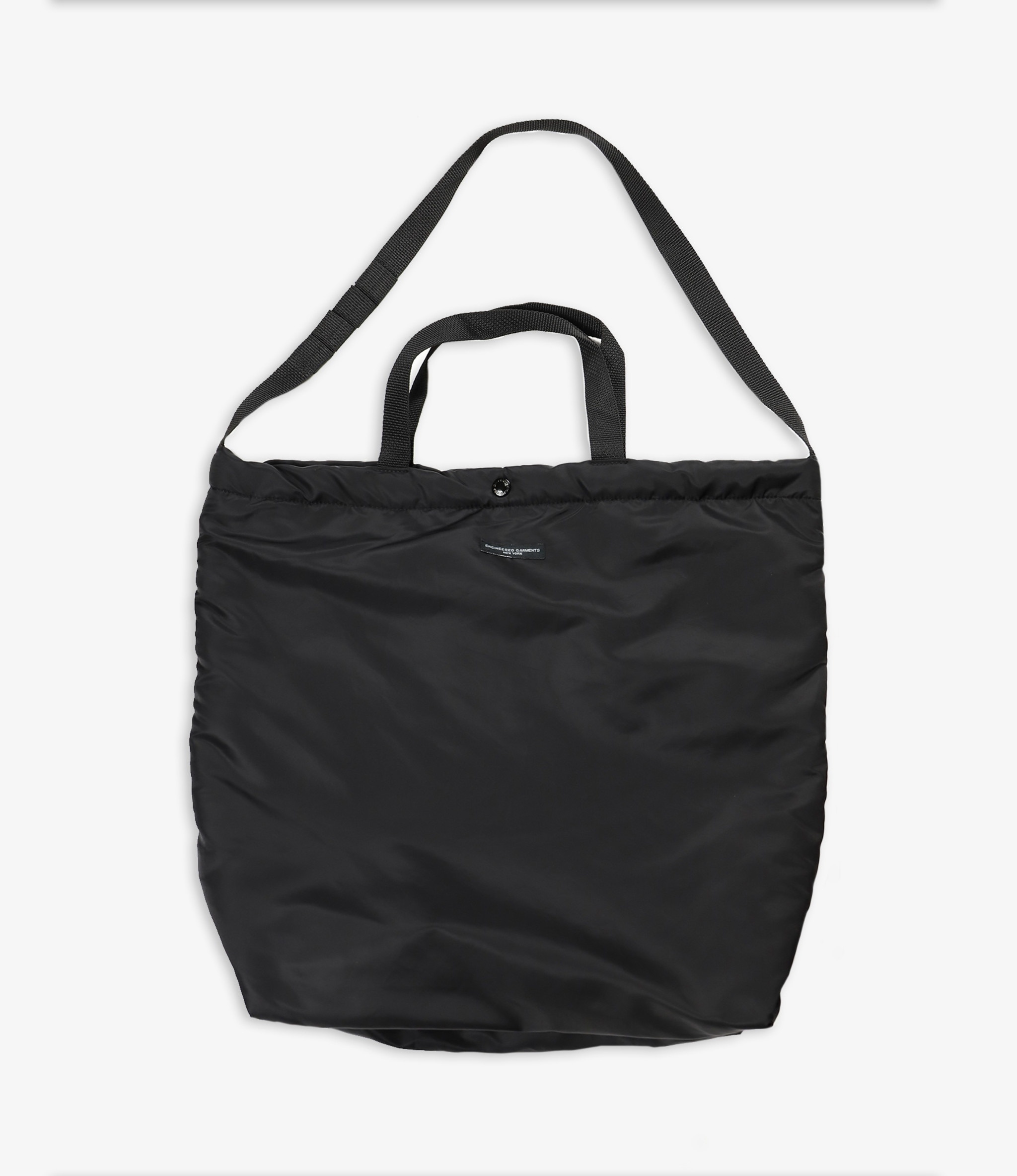 Engineered Garments Carry All Tote - Black Flight Satin Nylon