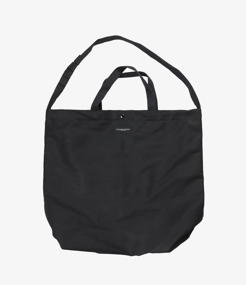 Engineered Garments Carry All Tote - Black Cotton Double Cloth