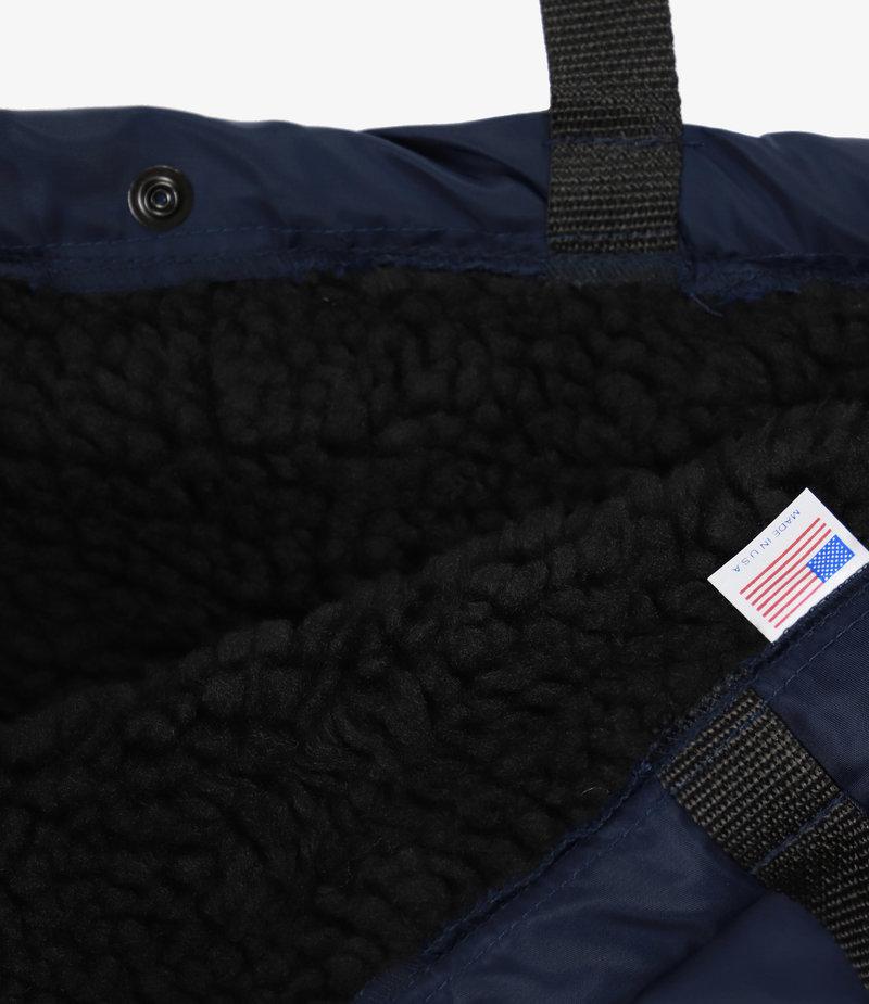 Engineered Garments Carry All Tote - Navy Flight Satin Nylon