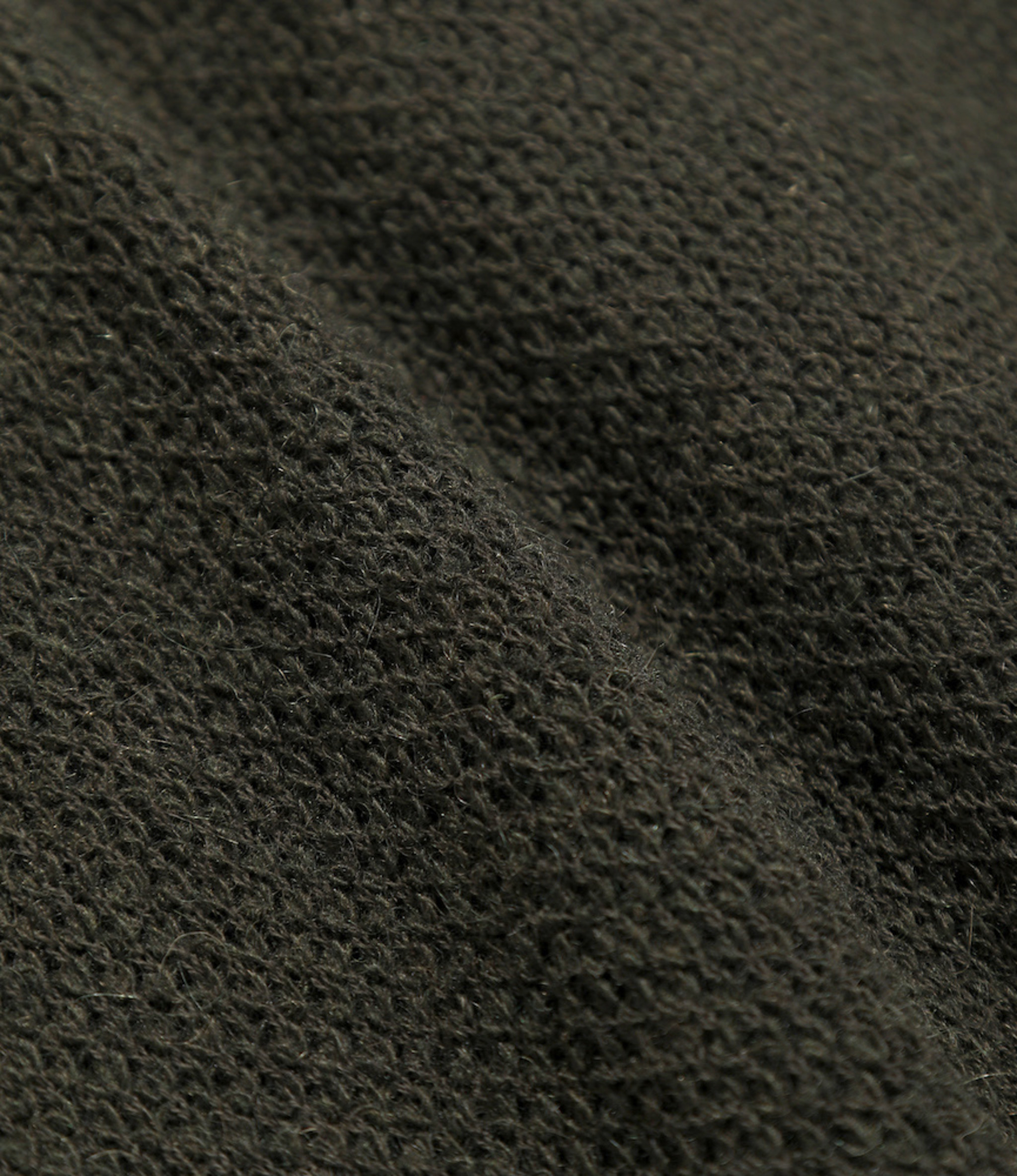 Needles V Neck Cardigane - Pique Knit - Olive