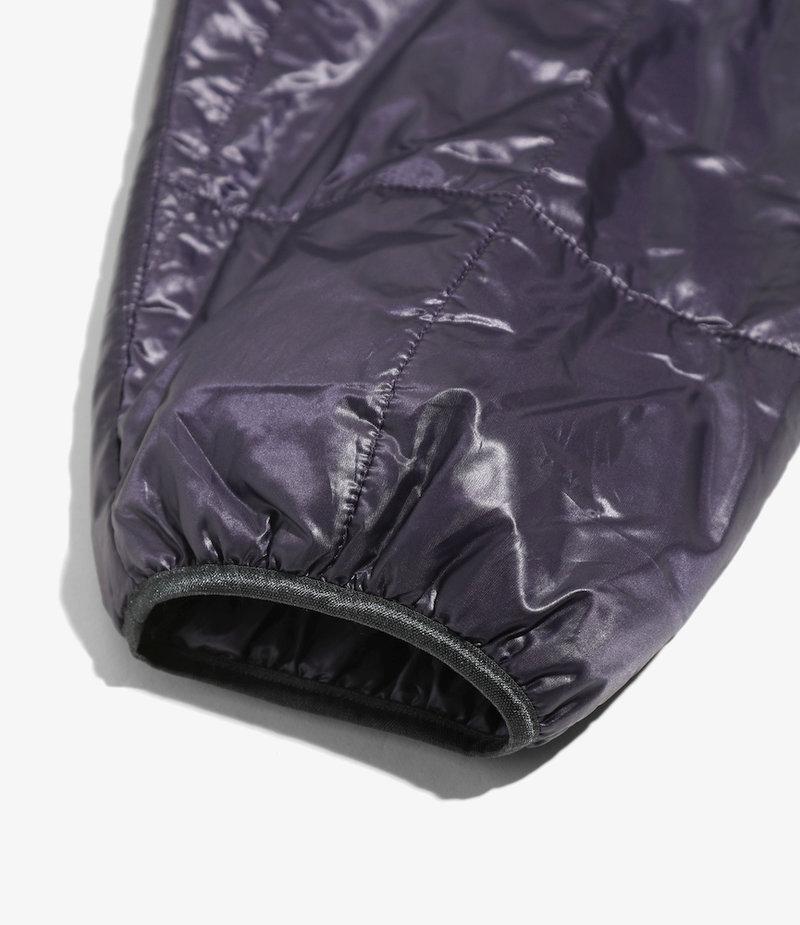 Needles Piping Quilt Jacket - Nylon Taffeta - Purple