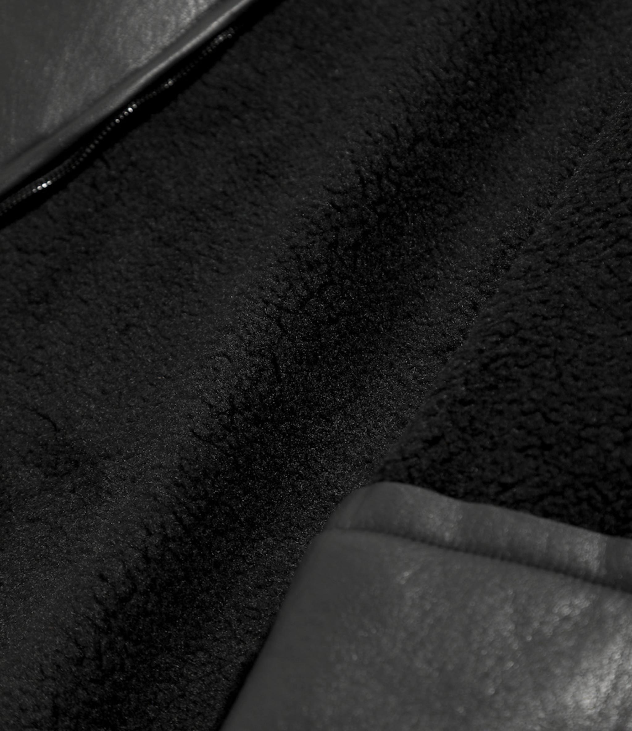 Needles Lined Boa Jacket - Faux Boa - BLACK