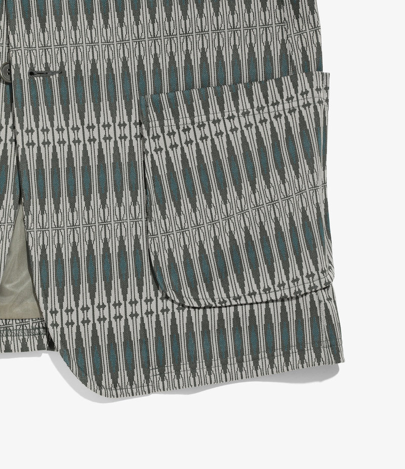 Needles 2B Jacket - Poly Jacquard - Geometry