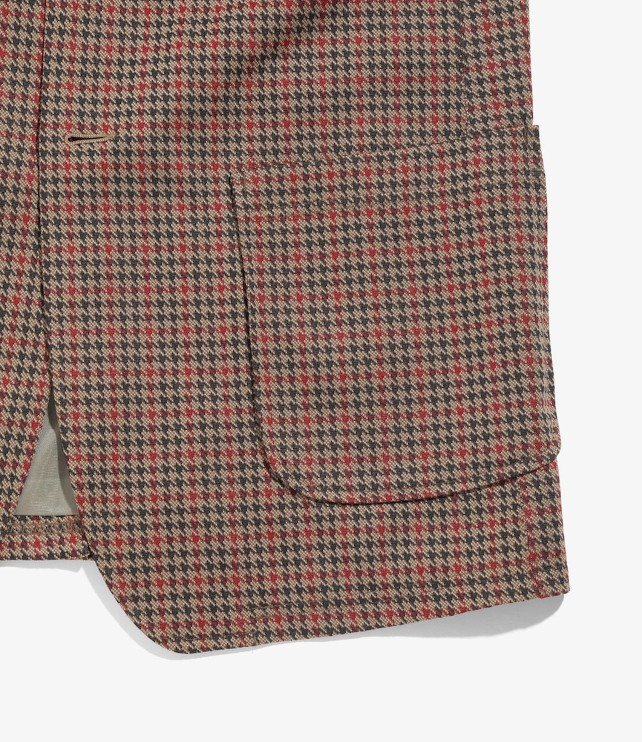 Needles 2B Jacket - Poly Jacquard - Houndstooth