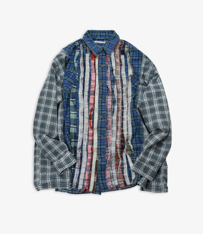Rebuild by Needles Flannel Shirt - Wide Ribbon Assorted W17