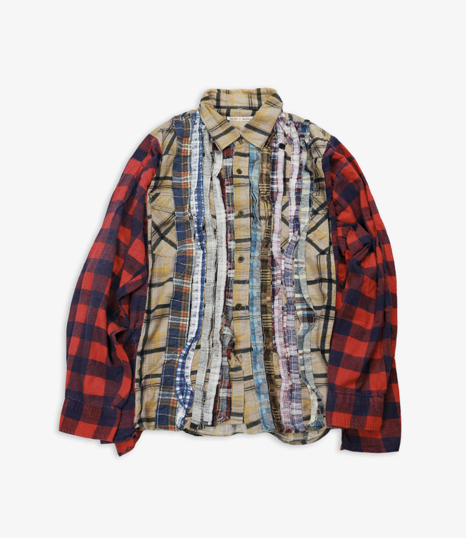 Rebuild by Needles Flannel Shirt - Wide Ribbon Assorted W15