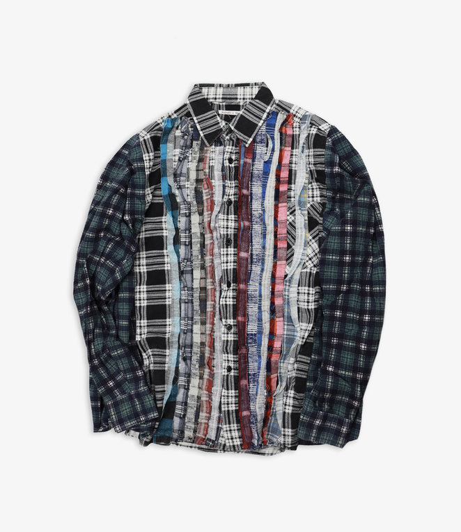 Rebuild by Needles Flannel Shirt - Wide Ribbon Assorted W14