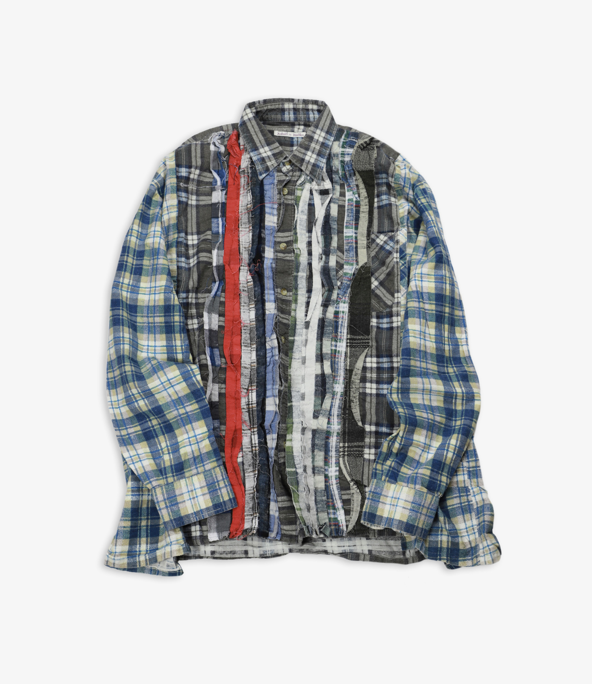 Rebuild by Needles Flannel Shirt - Wide Ribbon Assorted W12