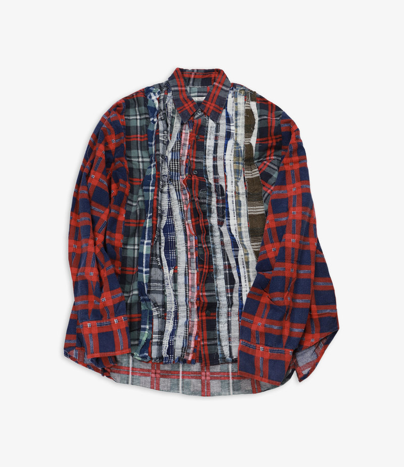 Rebuild by Needles Flannel Shirt - Wide Ribbon Assorted W11