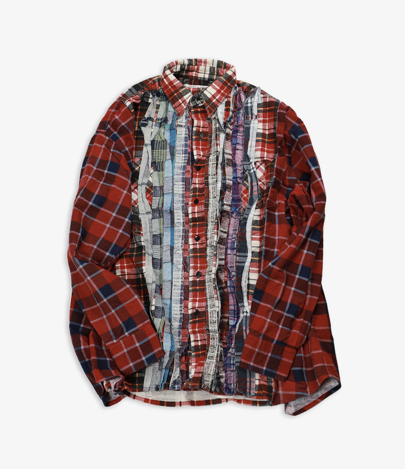 Rebuild by Needles Flannel Shirt - Wide Ribbon Assorted W10