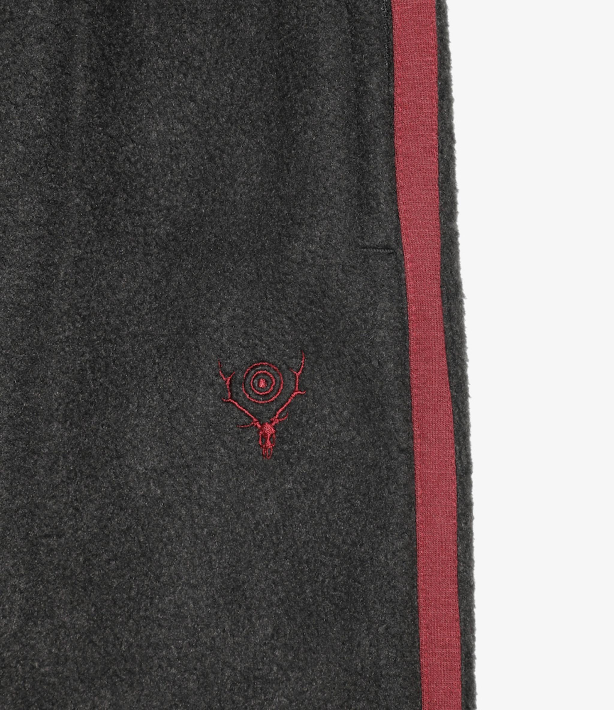 South2 West8 Trainer Pant - Pe/R Fleece - Black