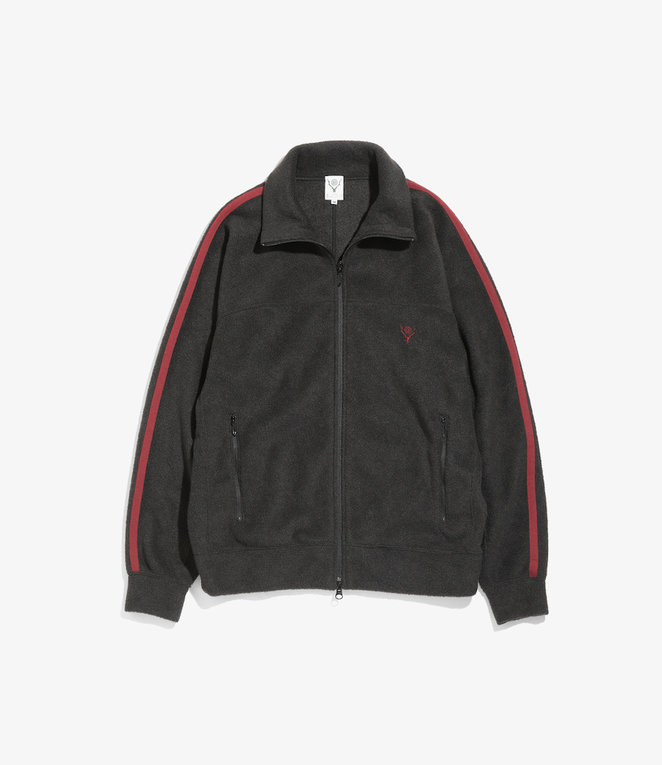 South2 West8 Trainer Jacket - Pe/R Fleece - Black