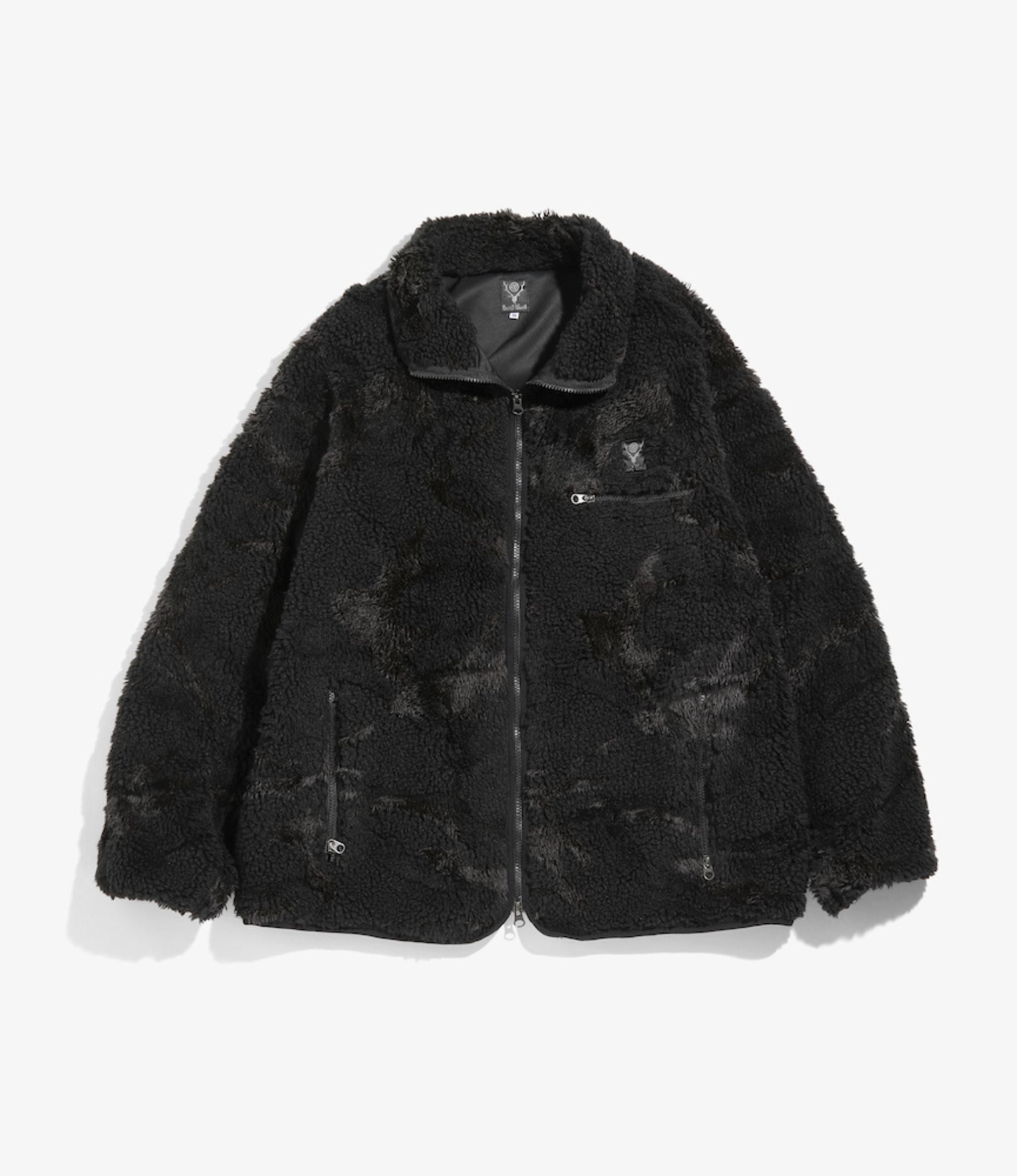 South2 West8 Piping Jacket - Boa Jq - Black