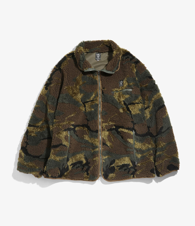 South2 West8 Piping Jacket - Boa Jq - Olive
