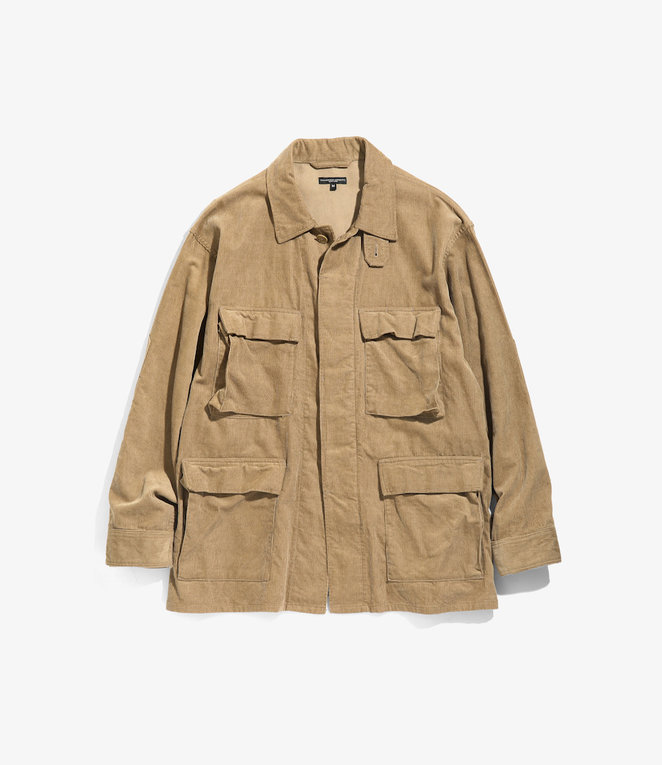 Engineered Garments BDU Jacket - Khaki 14W Corduroy