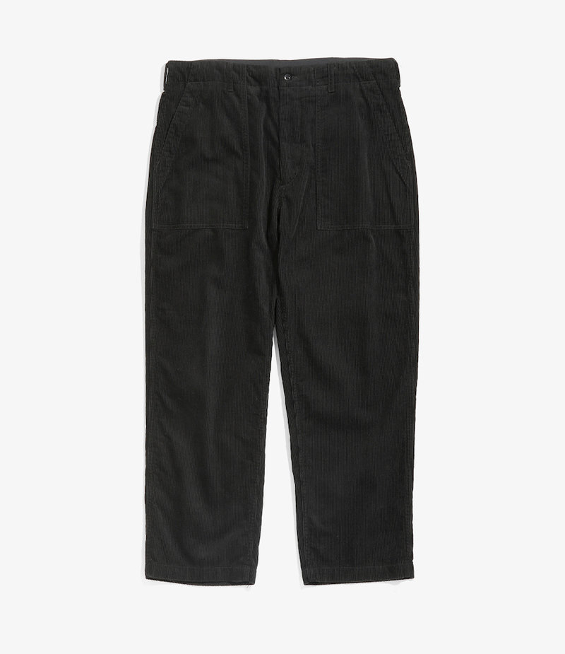 Engineered Garments Fatigue Pant - Black Cotton 8W Corduroy