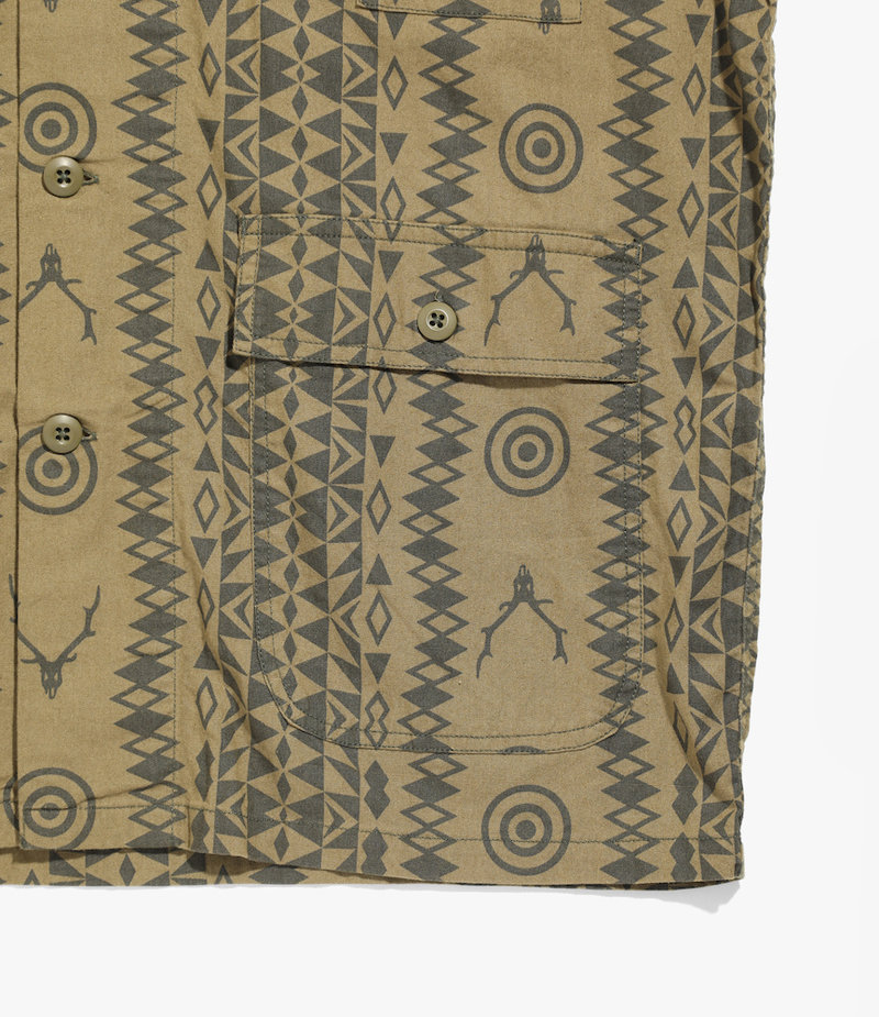 South2 West8  Hunting Shirt - Flannel Pt.  - Skull&Target