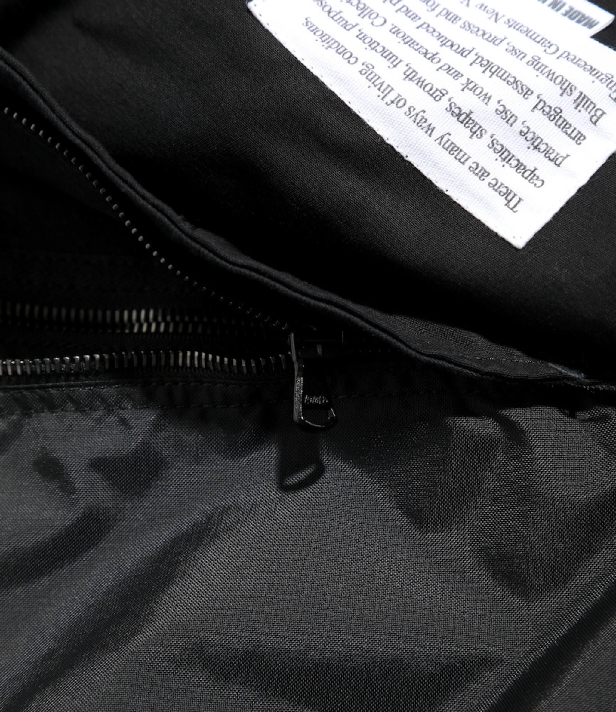 Engineered Garments Long Fowl Vest - Black Flight Satin Nylon