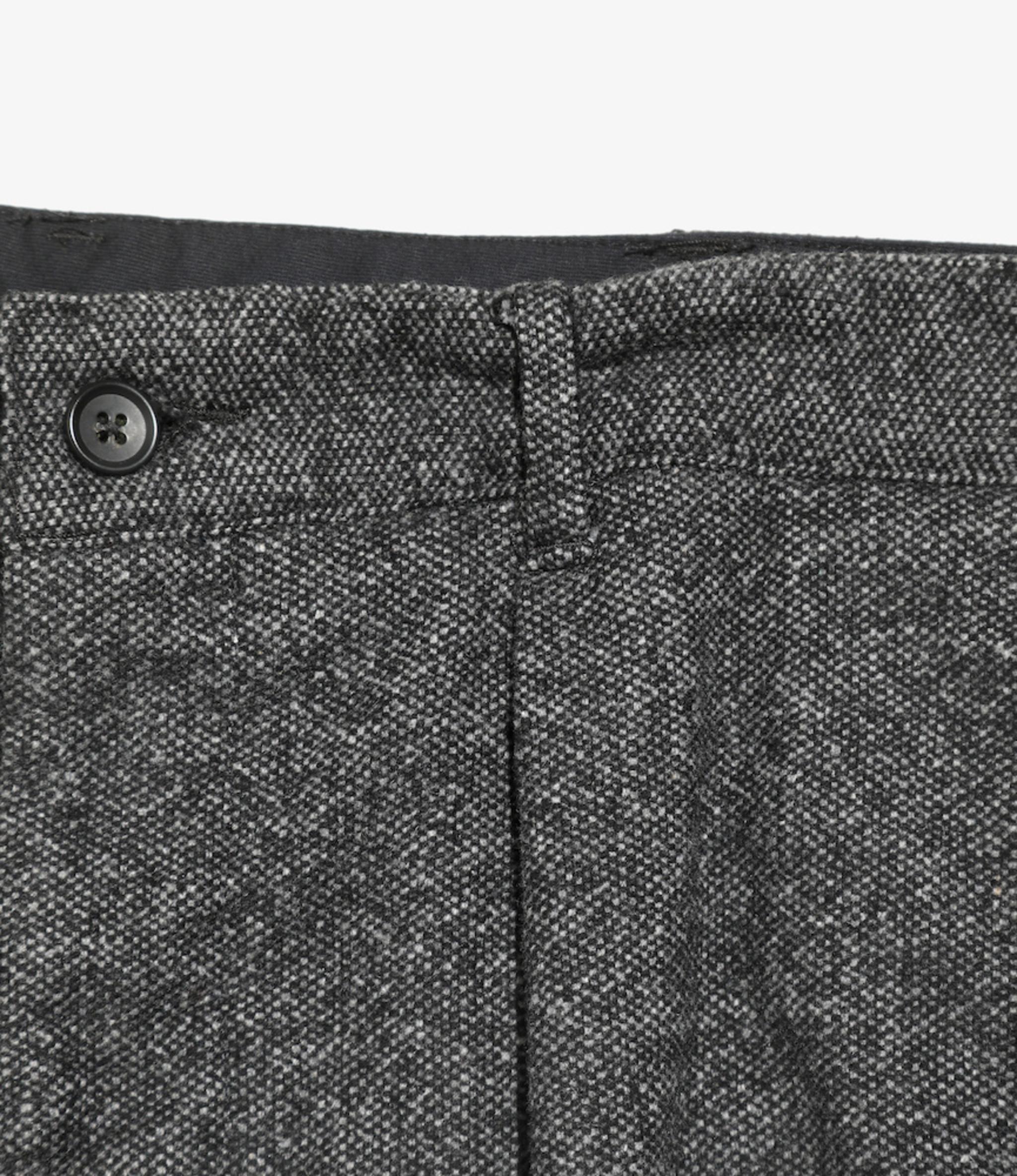 Engineered Garments Carlyle Pant - Grey Wool Blend Homespun