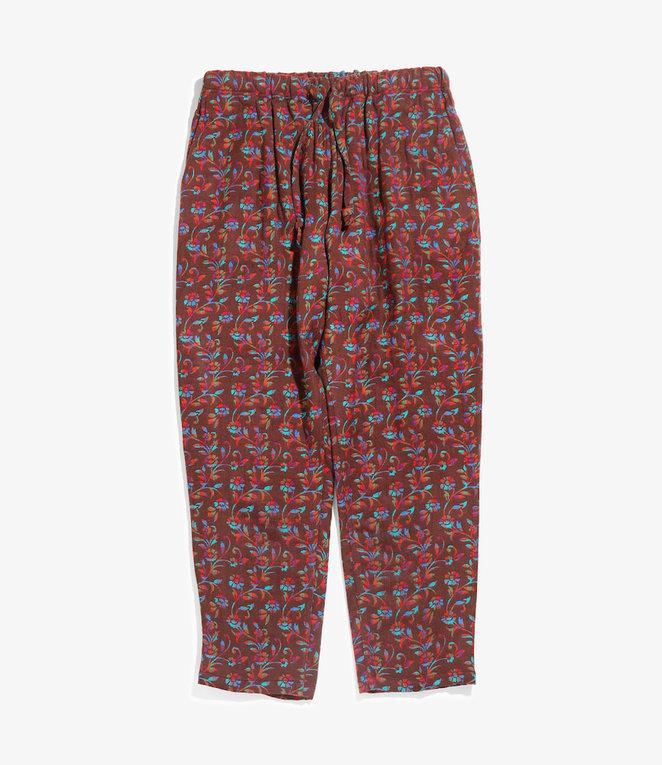 South2 West8 String Slack Pant - India Jacquard - Ivy