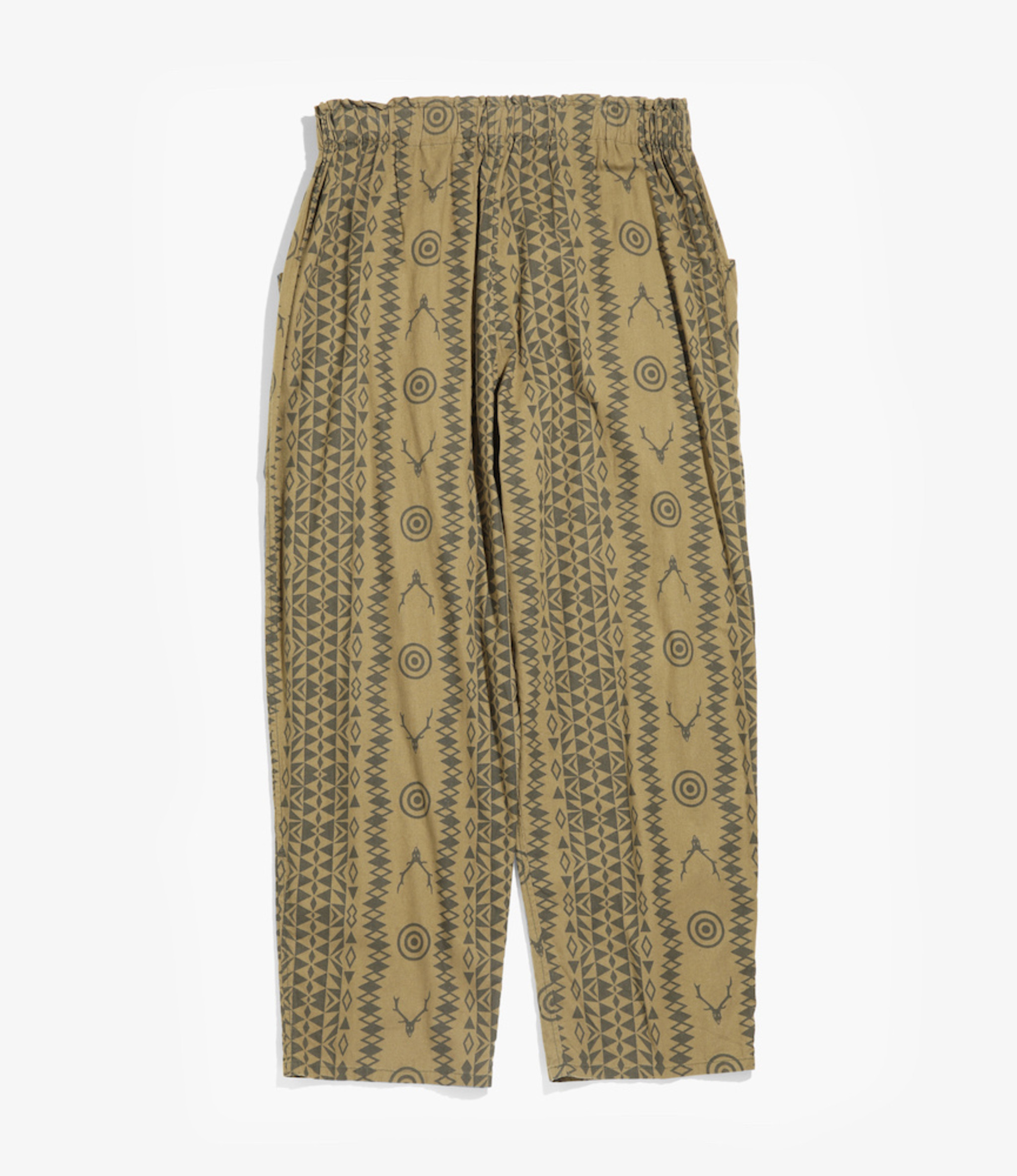 South2 West8 Army String Pant - Flannel Pt  - Skull&Target