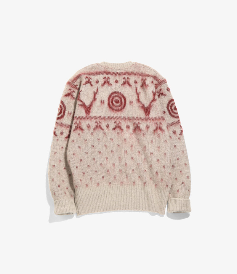 South2 West8 Loose Fit Sweater - S2W8  Nordic - Oyster