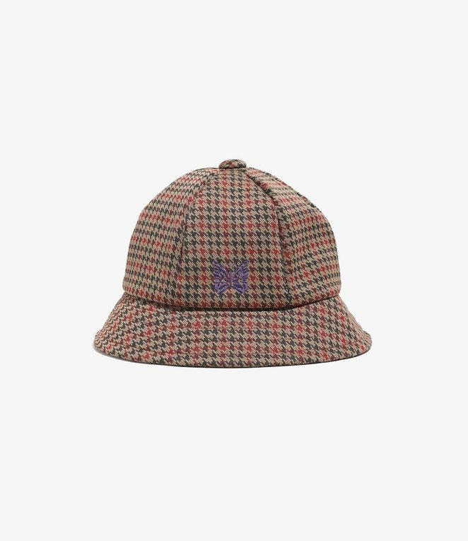 Needles Bermuda Hat - Poly Jq - Houndstooth